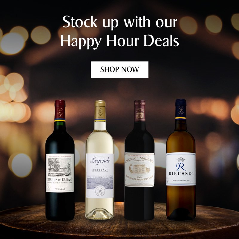 Up to 35% off Bordeaux wines
