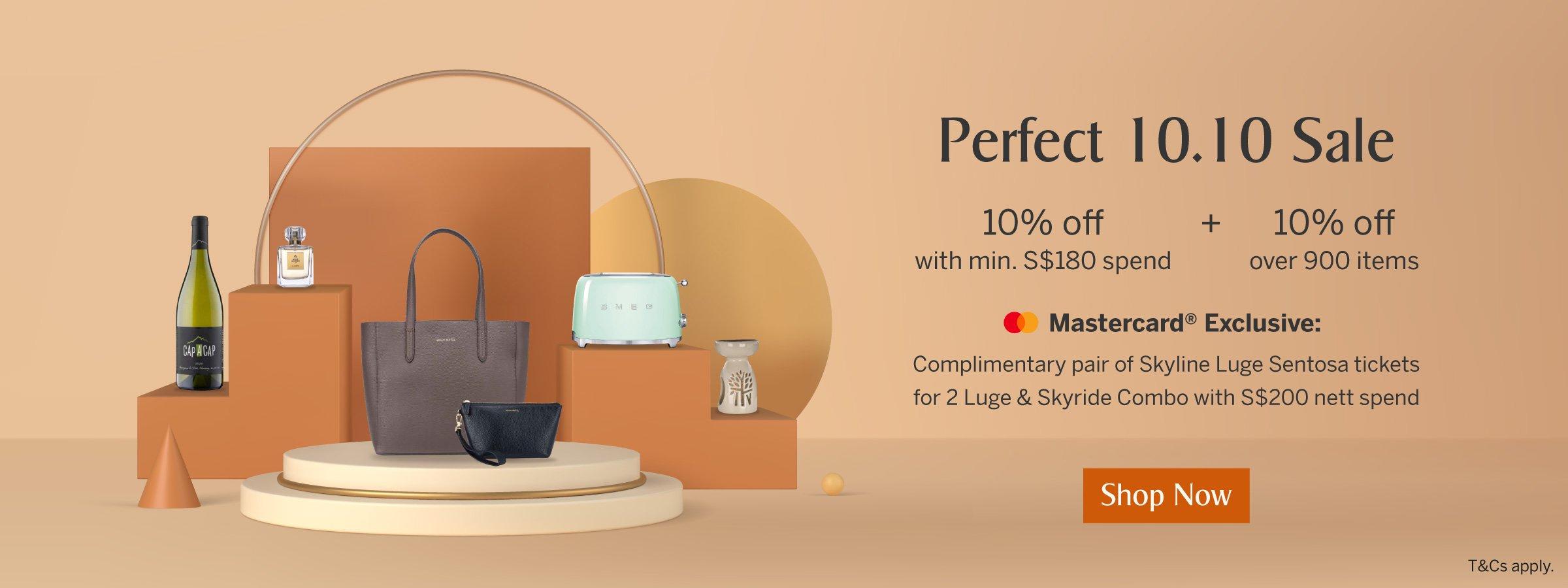 KrisShop's Perfect 10.10 Sale