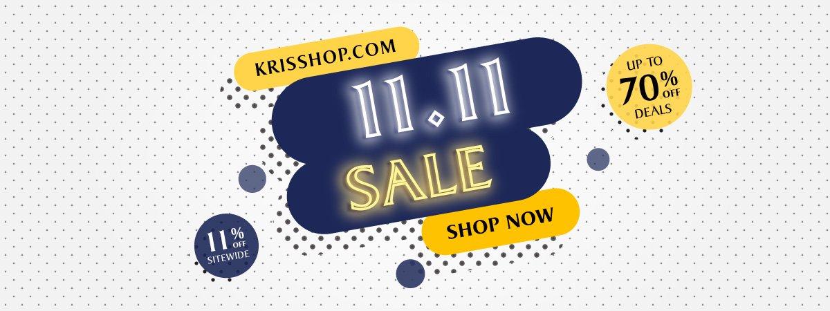 KrisShop.com 11.11 Sale