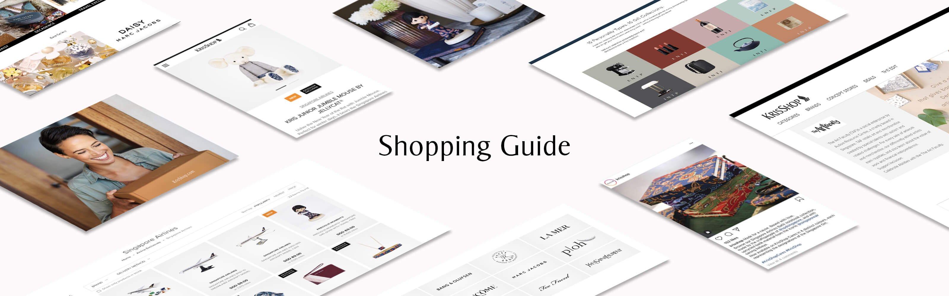 KrisShop Shopping Guide
