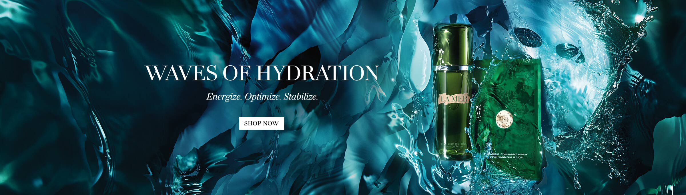 Waves of Hydration