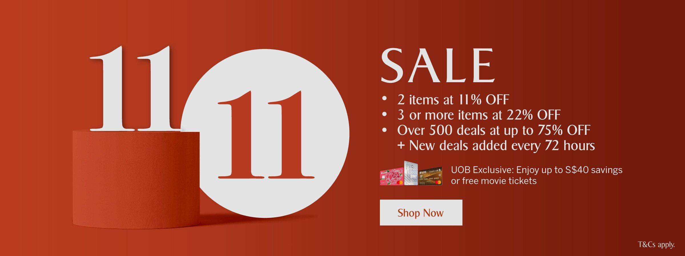 KrisShop 11.11 Sale