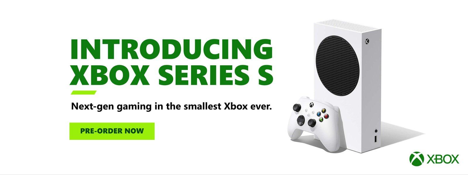 Xbox Series S - Preorder now