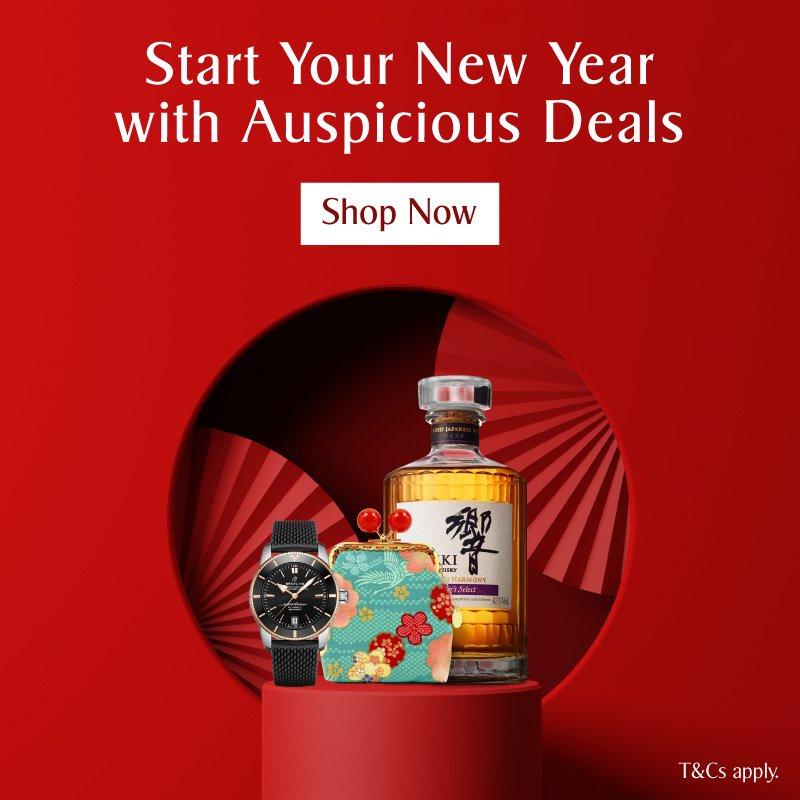 KrisShop CNY Auspicious Deals