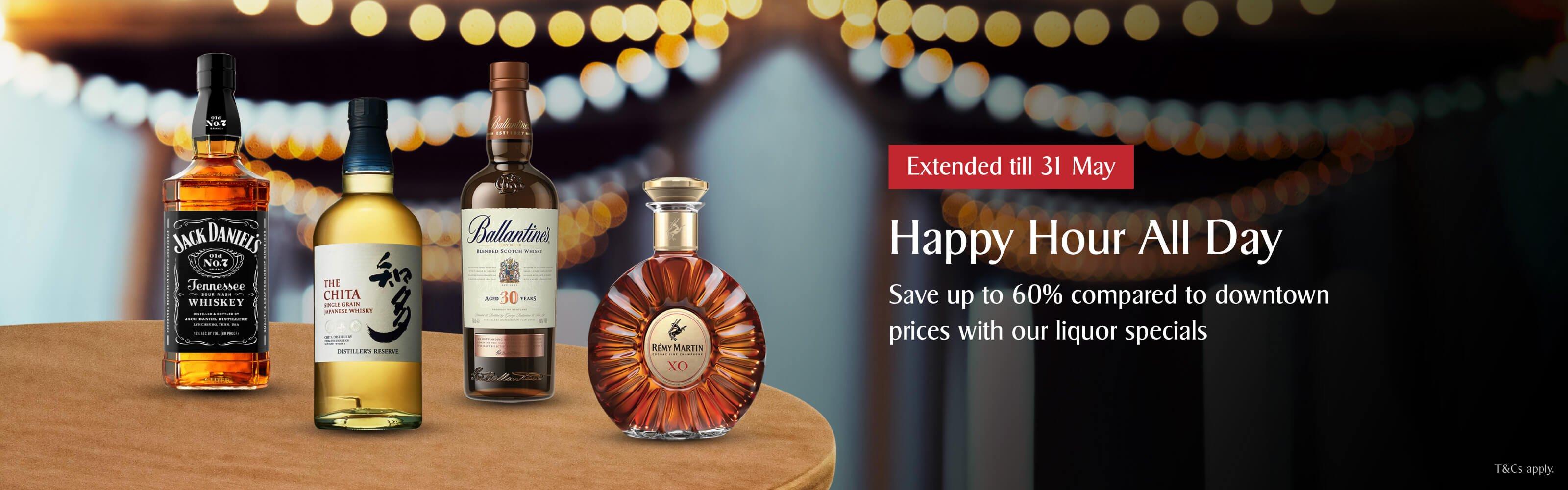Liquor Specials extended till 31 May