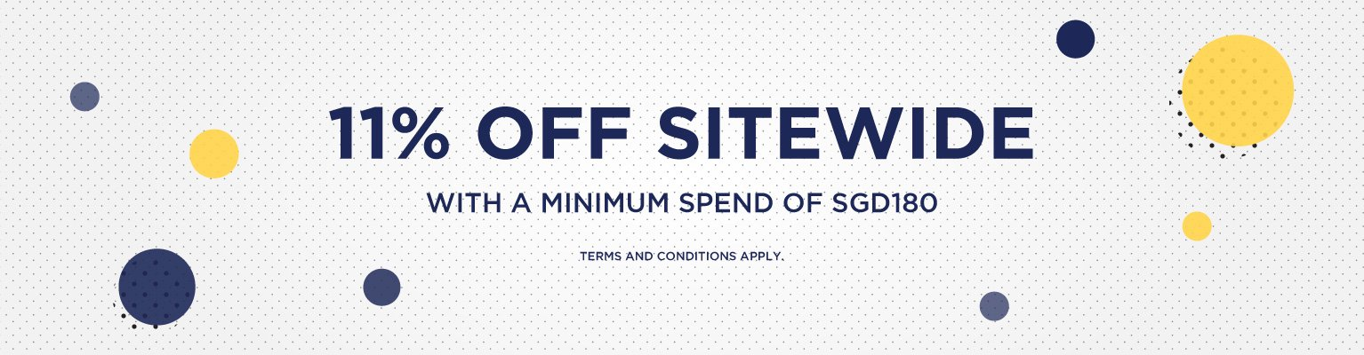 11.11 Sale - 11% Sitewide