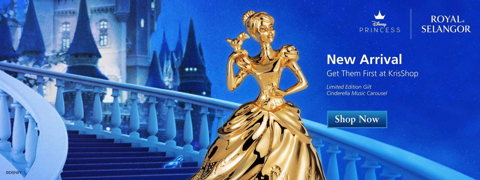 Royal Selangor - Limited Edition Cinderella Music Carousel