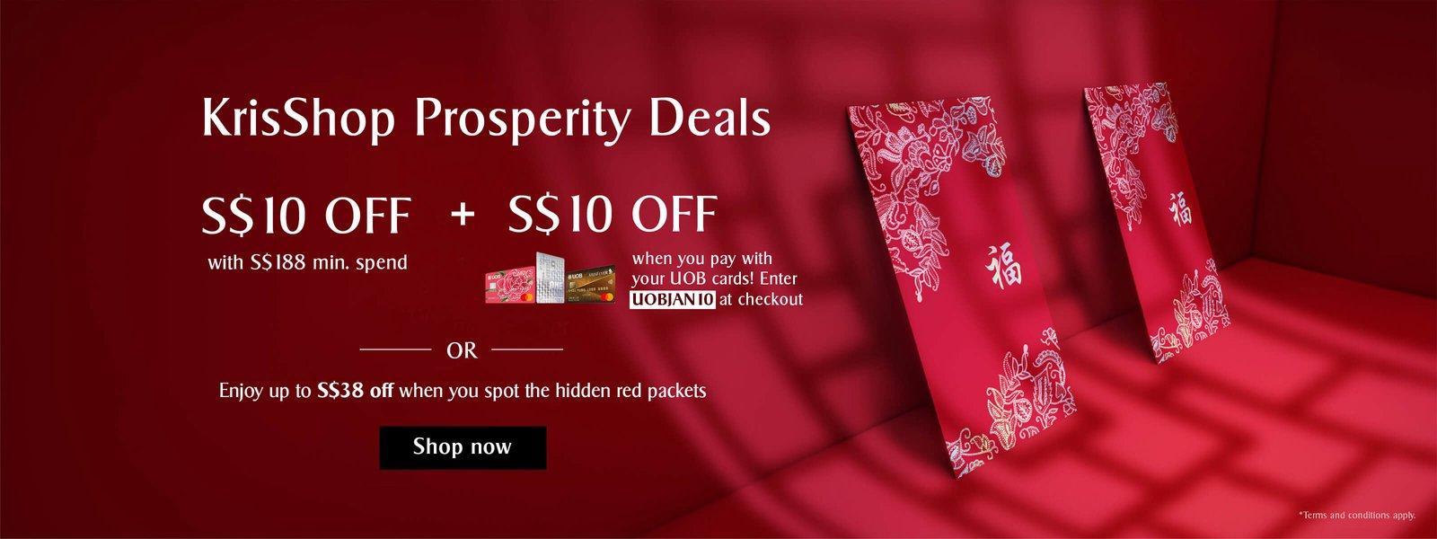 KrisShop Prosperity Deals