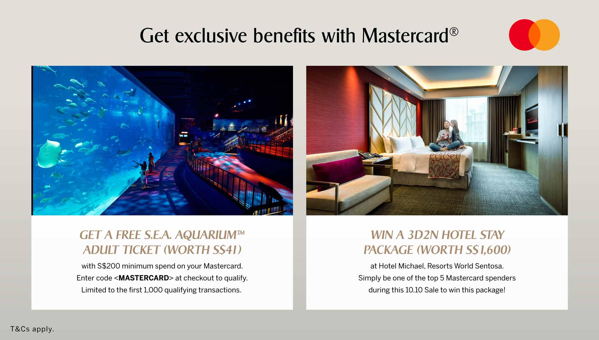 Exclusive Mastercard Benefits