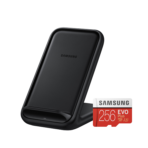Free 256GB microSD Card, Wireless Charger Stand and Galaxy S20+ leather case (worth $305).