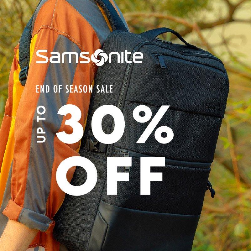 Samsonite - Up to 30% Off