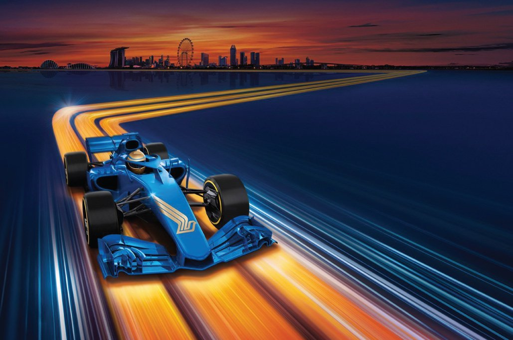 Singapore Airlines F1™ Cover Image