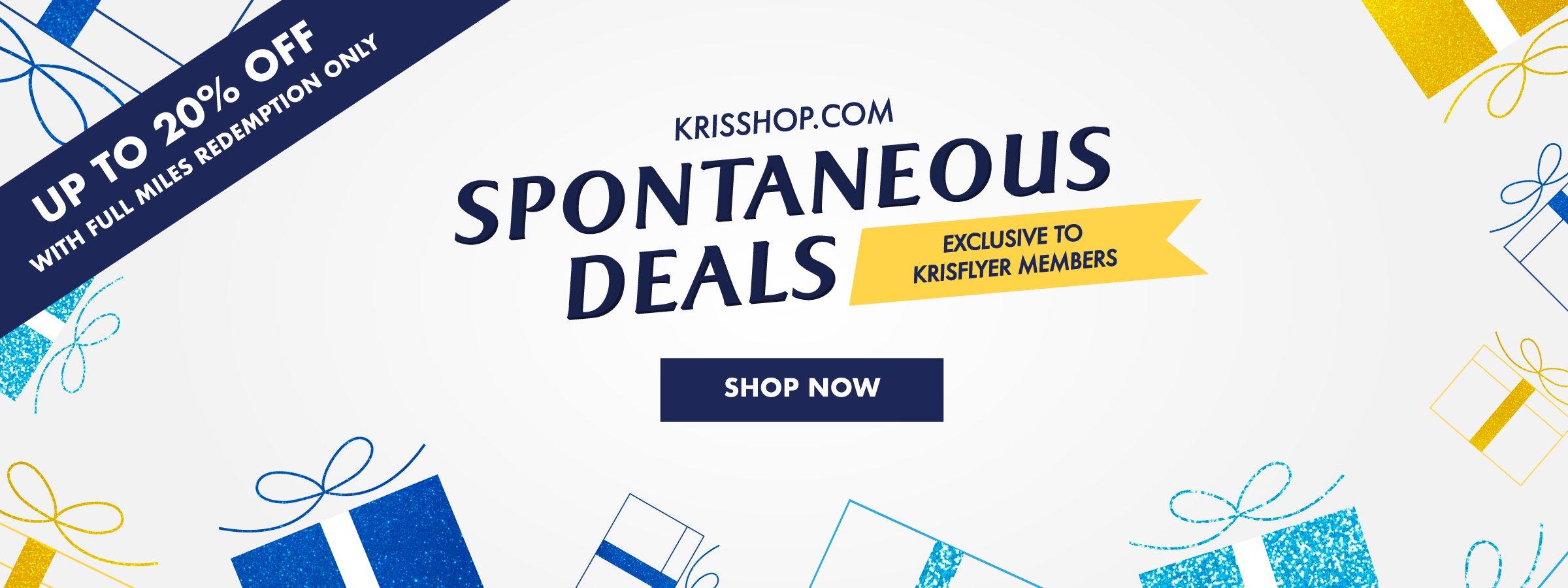 KrisShop Spontaneous Deals