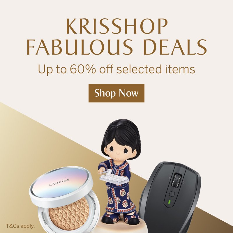 KrisShop Fabulous Deals - Up to 60% off