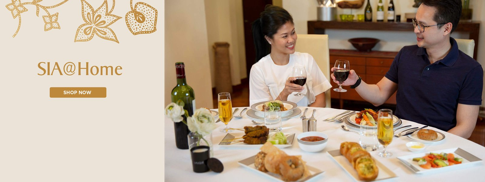 Discover Your Singapore Airlines - SIA@Home