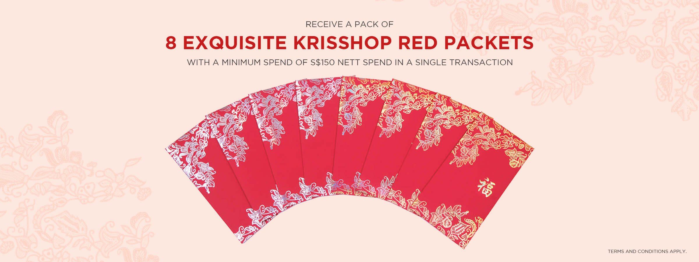 8 Exquisite KrisShop Red Packets