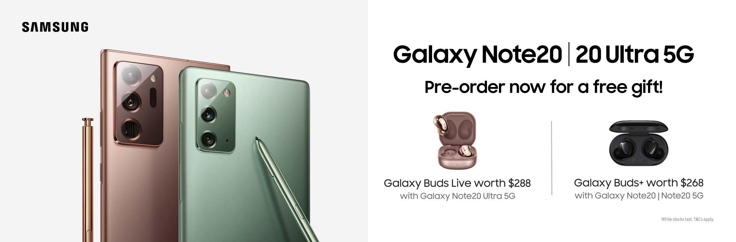 Samsung Note20 Pre-Order