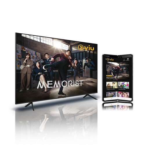 """Free Samsung 43"""" 4k Smart TV and a 12-month Viu Premium Subscription (worth $1695)."""