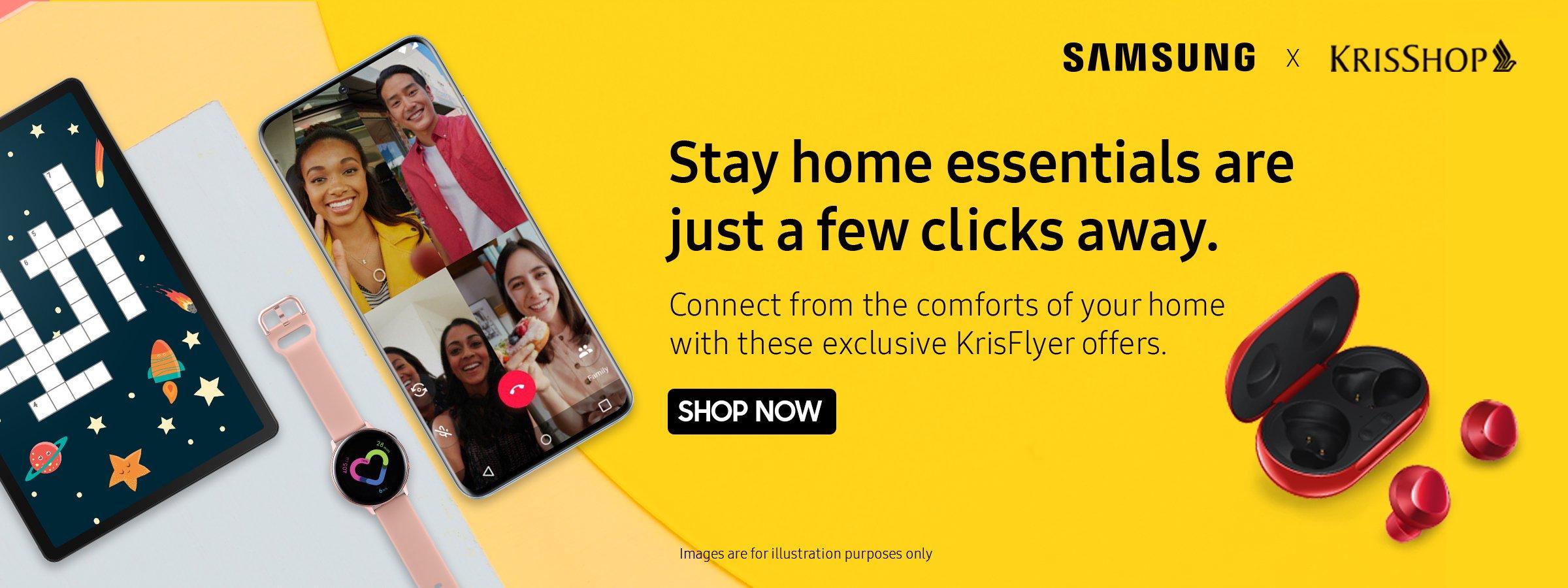 Samsung #Stayhome Specials