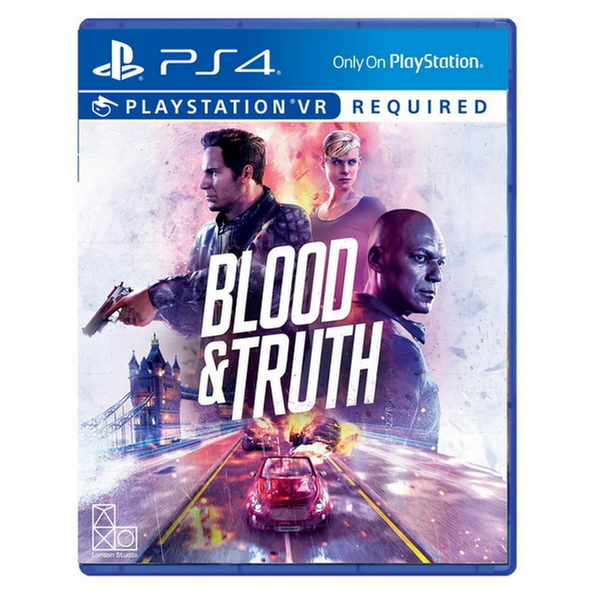 Free Blood & Truth VR title and 2 Move Motion Controllers
