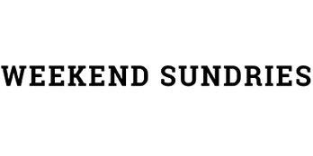 Weekend Sundries