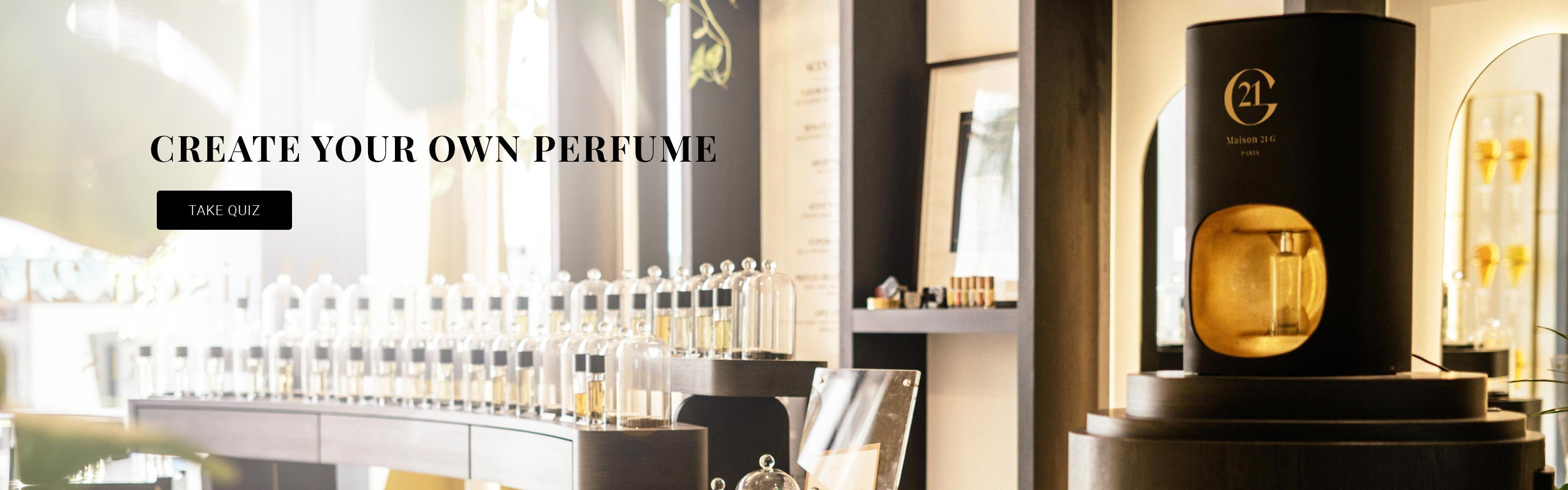 Maison 21G - Create Your Own Perfume