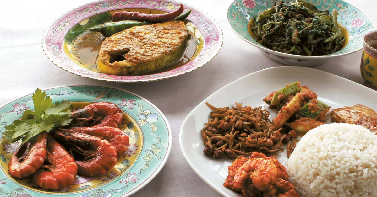 Re-create the Restaurant A380 @Changi Peranakan Dishes in Your Own Home