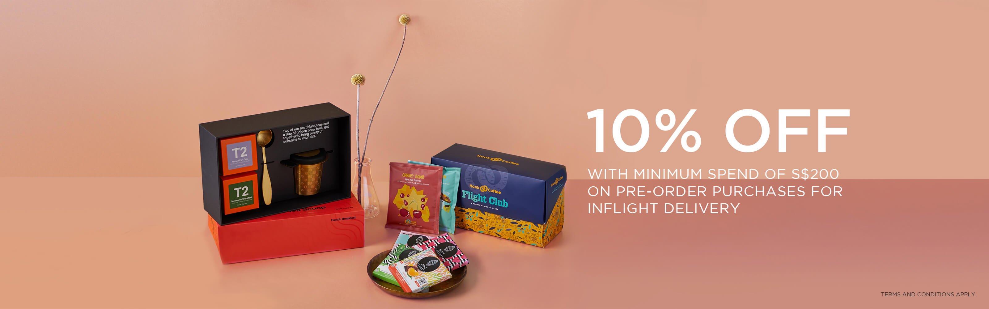 KrisShop Pre-Order 10% off Promotion