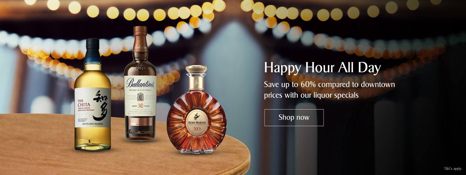 KrisShop Fabulous Deals   Liquor Specials