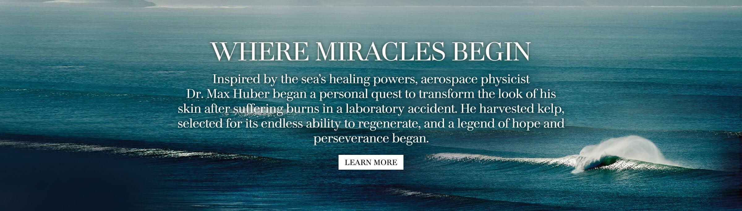La Mer - Where Miracles Begin