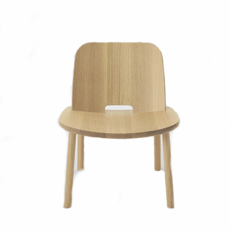 Atomi Fugu Armless Chair Oak Clear Wood Atomi Krisshop