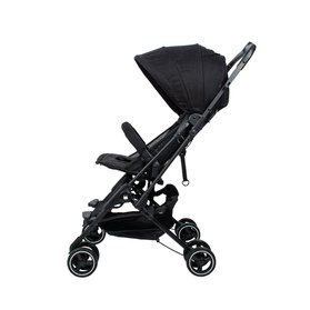 MIMOSA CABIN CITY + BACKPACK STROLLER IN JET SET BLACK (WITH